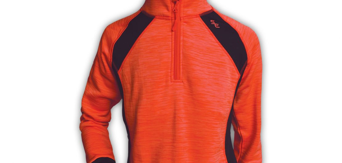 stretchy fleece-Summit Edge Outerwear-womens-coral- Pullover