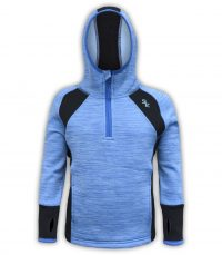 blue and black youth kids pullover hoodie se logo