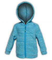 kids hoodie zip up blue summit edge brand polar fleece