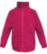 Summit Edge Outerwear pink soft kids polar fleece jacket