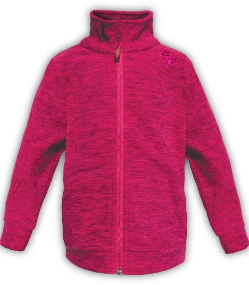 Summit Edge Outerwear pink soft kids polar fleece jacket